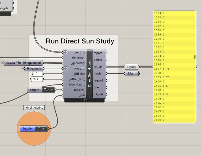 rundirectsunstudy new component