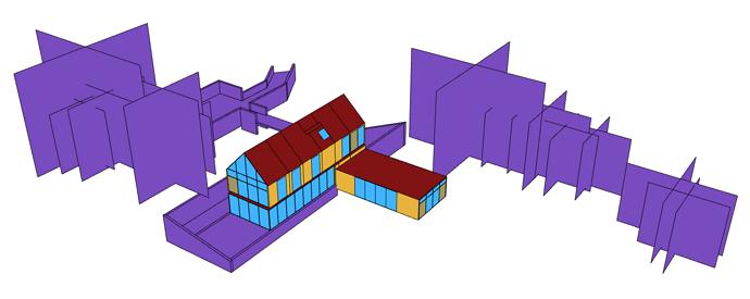 Revit Sample Model in Grasshopper