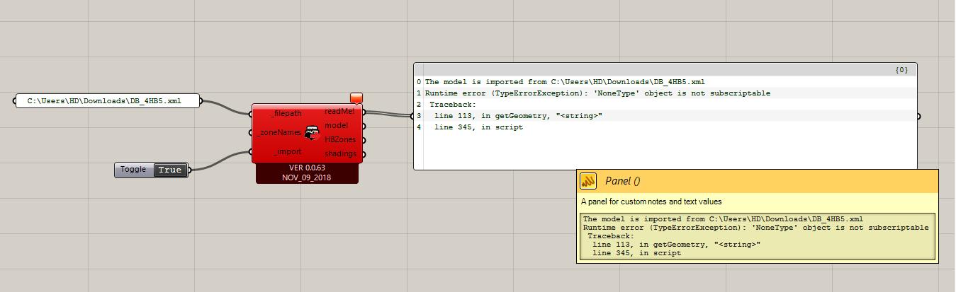 Import gbXML error - honeybee - Ladybug Tools | Forum